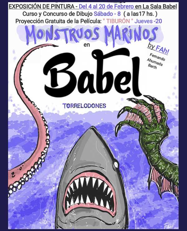 Exposición Monstruos Marinos